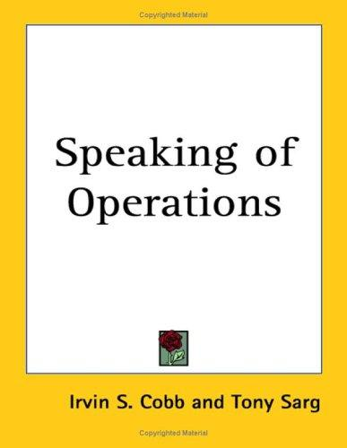 Download Speaking of Operations
