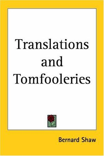Download Translations And Tomfooleries