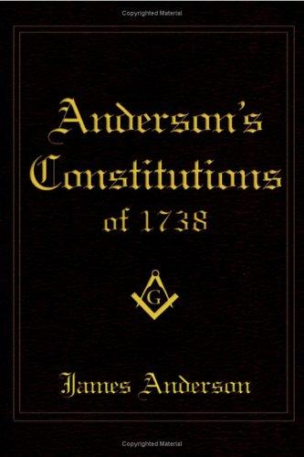 Download Anderson's Constitutions Of 1738