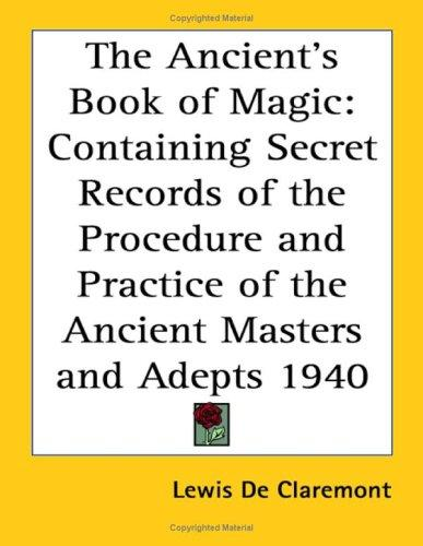 The Ancient's Book of Magic