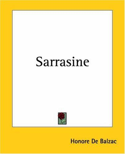 Download Sarrasine