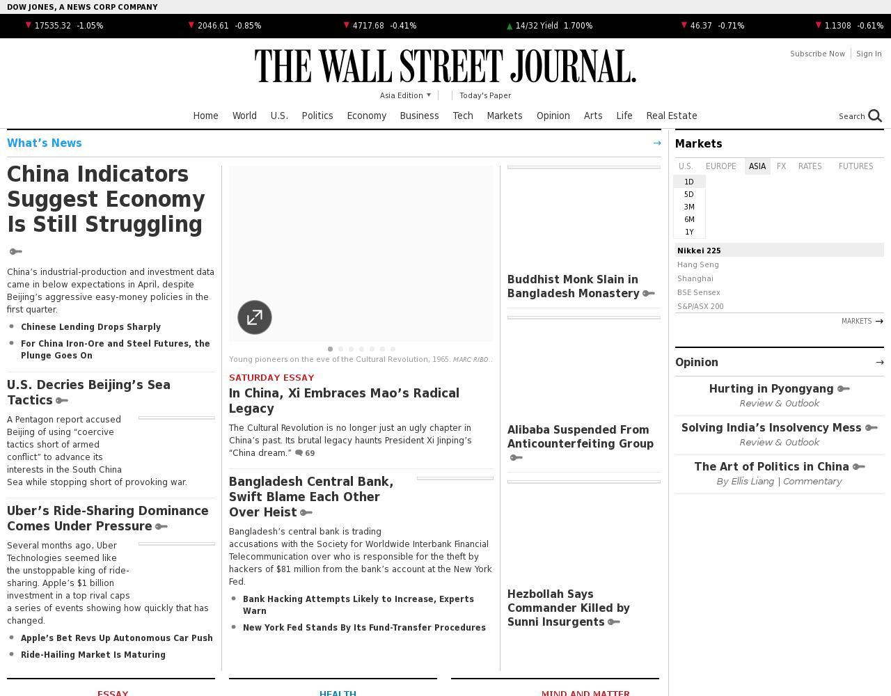 The Wall Street Journal (Asian)