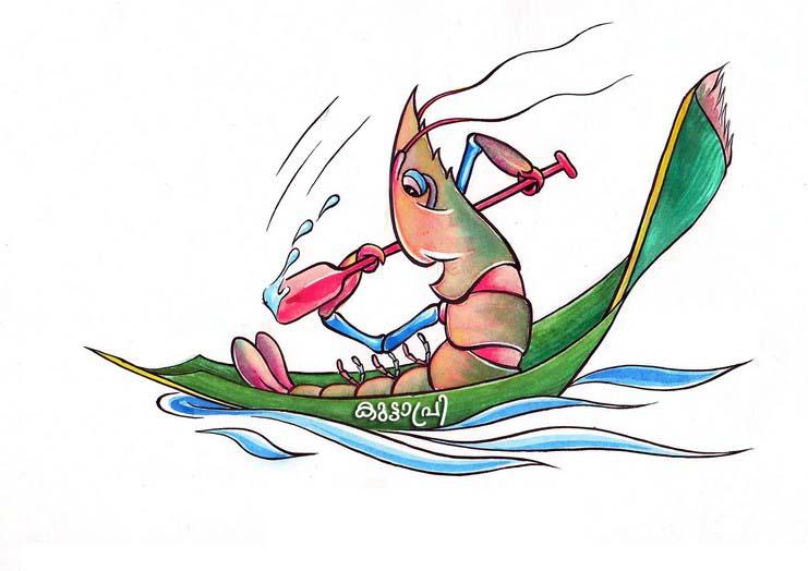 Nehru Trophy Boat Race 2017 mascot Kuttapri photo image