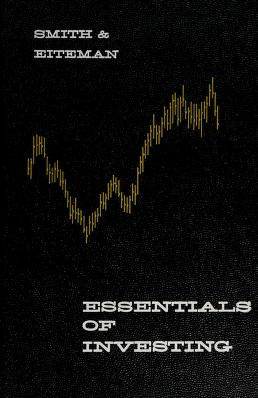 Cover of: Essentials of investing   Keith V. Smith